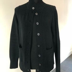 BR Black cable cardigan